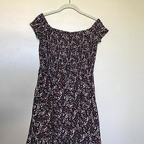 Women's Express Floral Print Mini Dress Size Small Photo