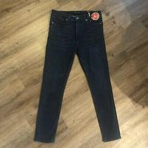 Womens Express Jeans Size  12 Nwt(retail 88)dark Blue Jeans Photo
