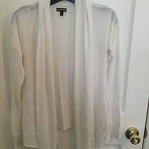 Women's Express Knit Cardigan Size S Ivory Photo