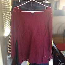 Women's Express Lace Top Size M Photo