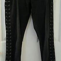 Women's Express Legging High Rise Jeans Black Size 6r Photo