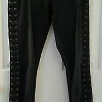 Women's Express Legging High Rise Jeans Black Size 6r Photo