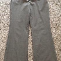 Women's Express Light Brown Polyester/rayon/spandex Editor Dress Pants-Size 4s Photo