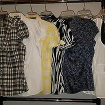 Women's Express Lot Work Dress Shirts Business Tops Sz Medium Photo