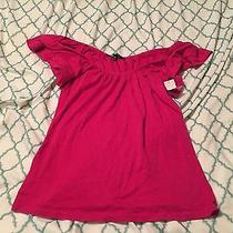 Women's Express Pink Blouse Xs Great Condition Very Cute Photo