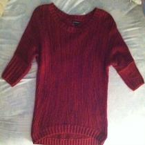Women's Express Pink/purple Sweater Size Xs  Photo