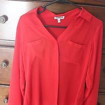 Women's Express Red Portofino Red Shirt - Small Photo