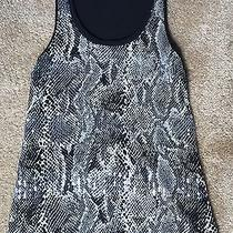 Women's Express Sequin Snake Skin Print Tank Top  Photo