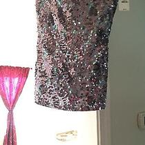 Women's Express Sequin Top Size S Photo
