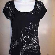 Women's Express Sexy Basics Black Top/tee/blouse Size M Photo