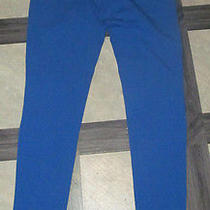Women's Express Sexy Stretch Leggings Solid Blue Small Nwt Photo