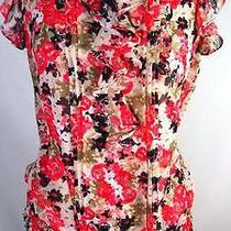 Women's Express Shirt  Top Blouse Top Sz Medium M 29 Photo