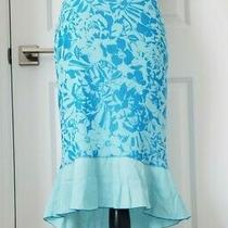 Women's Express Skirt Size S - Teal / Blue Photo
