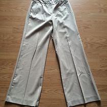 Women's Express Stretch Beige Dress Pants Sz 5/6r - Cute Photo