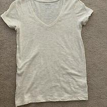 Women's Express Tan Beige Heathered Brown Short Sleeve Top Size S Nwt Photo