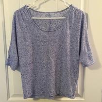 Women's Express Top Blue Shirt Extra Small Photo