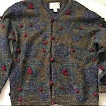 Women's Express Tricot Cardigan Sweater - Sz Xs (Runs Big) Photo