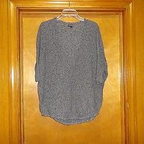 Women's Express v-Neck Dolman Sleeves Thin Sweater Size M Photo