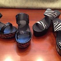 Women's Express Wedges Animal Print Size 6 Lot of 2 Nwt Read Description Photo