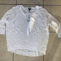 Women's Express White Top Size Xs Nwt Photo