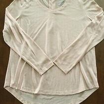 Women's Faded Glory Ls Knit Top Size M  Blush Pink Photo