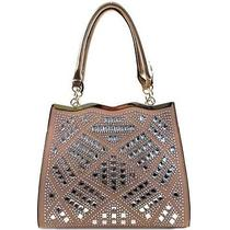 Women's Fashion Accessories Handbags Trendy Tote Bag Rose Gold Photo