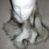 Women's Faux Fur Infinity Scarves Accessories Express One Size Cool X-Mas Gift Photo