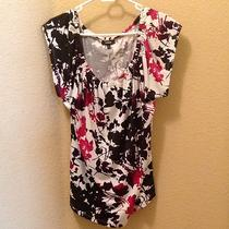Women's Floral Blouse Size Large Purchased From Express Photo
