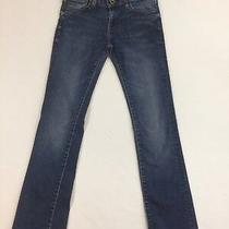 Women's Fossil Bootcut Jeans Size 27 Low Rise  Photo