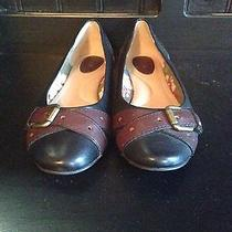 Women's Fossil Brand Leather Flats  Photo
