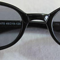 Women's Fossil Capricorn Sunglasses Black Frame Cat Eye Ts3057470 Photo