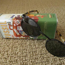 Women's Fossil Hawk Sunglasses With Vintage Tin Photo