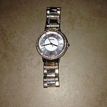 Women's Fossil Virginia Crystallized Ajustible Watch Photo