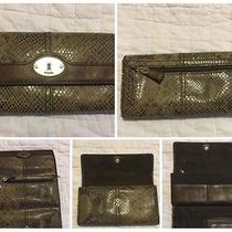 Women's Fossil Wallet Euc Photo