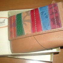 Women's Fossil Wallet New in Box Ladie's Womens Photo
