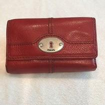 Women's Fossil Wallet - Red Photo