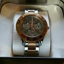Women's Fossil Watch Silver/ Rose Gold Unique  Photo