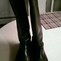 Women's Frye Brown Riding Boots 9.5-Gently Worn Photo