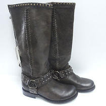 Women's Frye Harnes Boots Brown Leather Size 6 Photo
