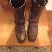 Women's Frye Harness Boot 12r Size 7.5 Gently Worn Photo