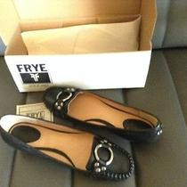 Women's Frye Ruby Ring Loafer Black Size 9.5 Photo