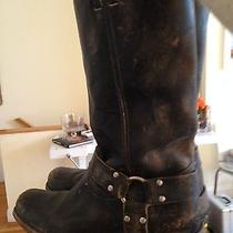 Women's Frye 'Smith' Harness Boots Tall Size 10 Style 77449 Photo