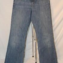 Womens Gap 1969 Blue Jeans Flare Leg Stretch Size 8 Regular 30x32 Rn 54023 2007 Photo