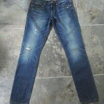 Women's Gap 1969 Slouchy Skinny Jeans Destroyed 26/2  Photo