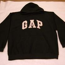 Women's Gap Athletic Sweats Brand Hooded Fleece Pullover. Size Xl. Wash and Dry. Photo