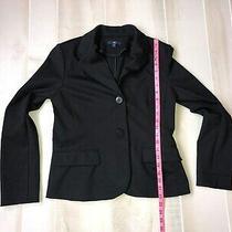 Women's  Gap Black Blazer Jacket Size  S Photo