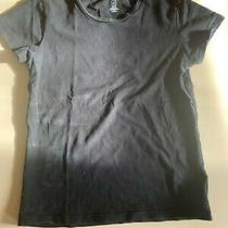 Women's Gap Black Short-Sleeved Stretchy T-Shirt Size Xs/tp Photo