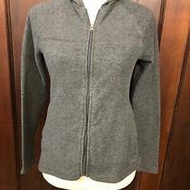 Women's Gap Gray Full Zip Hoodie Size Xs Photo