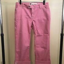 Womens Gap Pink Capri Jeans - Size 8 Photo