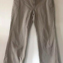 Womens Gap Stretch Corduroy Pants Brown Size 8 Regular Soft Photo